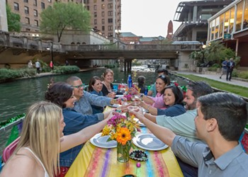 """All Aboard: Here's Your Chance to """"Drift & Dine"""" Down the San Antonio River"""