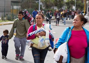 'No Existen Fronteras': Following the Hard Road of Central America's Refugee Caravan