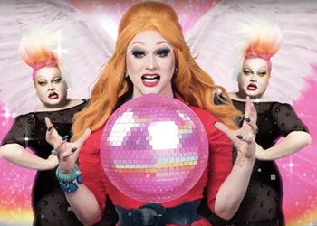 Drag Queens Ginger Minj and Jinkx Monsoon Will Skate into San Antonio in 2020