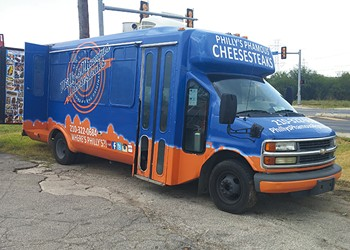 Malik Rose's Philly's Phamous Cheesesteaks Grows Wheels