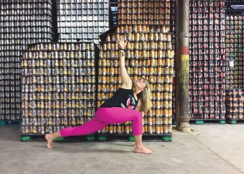 Finding Zen through Yoga and Beer
