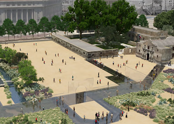 """Here's How the Alamo Redesign Will Restore """"Dignity"""" to the Historic Site"""