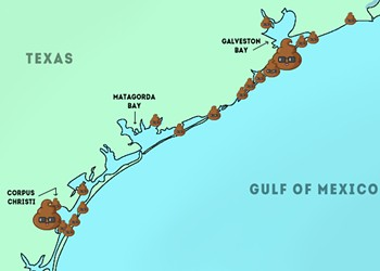 Your Annual Poop Alert for Visiting the Gulf