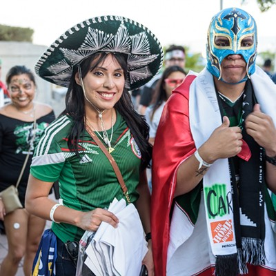 Everyone We Saw at the Argentina vs. Mexico Game at the Alamodome