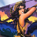 "Check Out This ""Sexy Davy Crockett"" Mural on San Antonio's Westside"