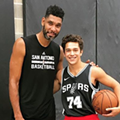 San Antonio Native Austin Mahone Shares What the Spurs Mean to Him