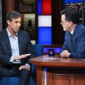 Beto O'Rourke Makes Appearance on <i>The Late Show with Stephen Colbert</i>