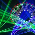 Annual Holiday Laser Show Brings Choreographed Laser Beams, Music to Lila Cockrell Theatre