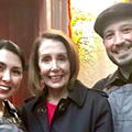 San Antonio's Board Couple Creates Cheese Board with Style for Speaker Pelosi