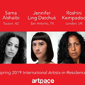 International Artist-in-Residence Exhibitions