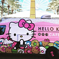 Hello Kitty Food Truck Arrives in San Antonio Next Week