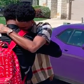 Spurs' Dejounte Murray Buys Car for Brother Following High School Graduation, Posts Emotional Video