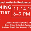Fall 2019 International Artist-In-Residence Opening and Talk