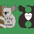 Austin Artist Duo Raising Money for Australian Wildfire Relief with Adorable Koala Pin