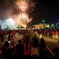 Classes Started Bright And Early Today, So UTSA Had A Midnight Fireworks Show