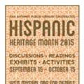San Antonio Public Library Celebrates Hispanic Heritage Month, Beginning September 15