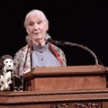 Jane Goodall Calls Keeping Elephants Like Lucky Alone 'Wrong,' Inspires Crowd at Trinity Lecture
