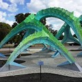 Check out the New Public Art at Woodlawn Lake Park