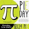 Celebrate Pi Day at Urban Bricks Pizza