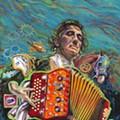 Local Painter Gilbert Durán's Surrealist Tribute to Conjunto Icon Flaco Jiménez