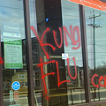 San Antonio restaurant Noodle Tree tagged with racist graffiti following owner's CNN appearance