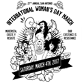 27th Annual International Woman's Day March Continues the Push for Equality