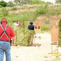 Security Officials Test  Border Patrol Tactics at the Bandera Gun Club