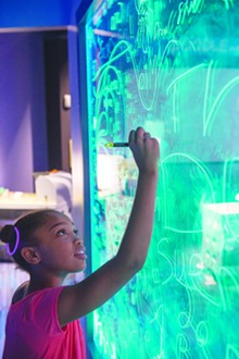Hands-on activities and high-tech aplenty at The DoSeum. - COURTESY