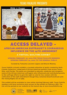 Access Delayed Event Flyer - Uploaded by txfolklife