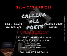$100 CASH PRIZE! - Uploaded by The Creative Council