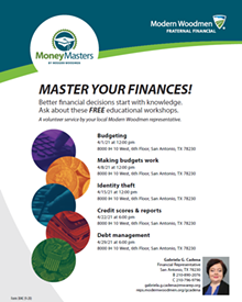 April is Financial Literacy Month - Uploaded by ProtectionToday