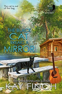 """""""The Black Cat Breaks a Mirror"""" - Uploaded by Caren Creech"""