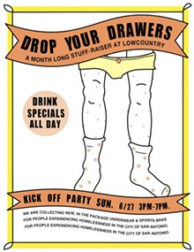 Drop Your Drawers Event Flyer - Uploaded by Lowcountry