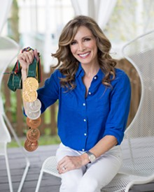 Shannon Miller, seven-time Olympic gold medal gymnast and Cancer Survivor - Uploaded by Anne Galanti