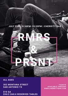 RMRS & PRSNT - Uploaded by Kyle Cooper
