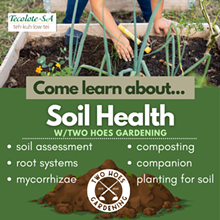 FREE Soil Health workshop 7910 Donore Pl. 78229 July 24th 11am No registration necessary - Uploaded by TwoHoes