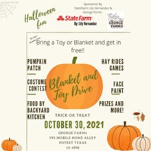 Blanket and Toy Drive Pumpkin Patch - Uploaded by Lily Hernandez