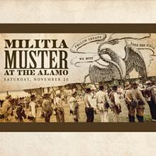 Alamo Militia Muster - Uploaded by thealamo