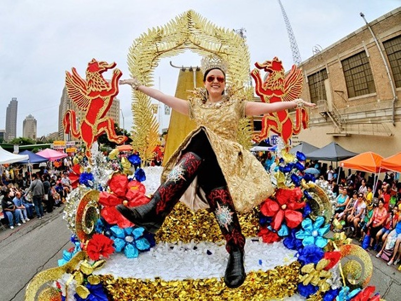 Battle Of Flowers Parade Parade Route Special Events