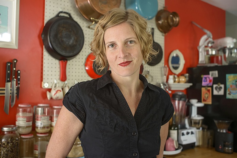 Uber-hip Kate Payne will partake in the hands-on culinary panel at SA Book Festival. - JO ANN SANTANGELO