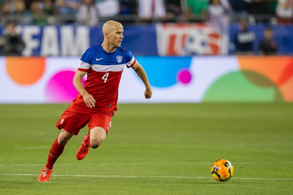 Michael Bradley of the U.S. Men's National Soccer Team - USSOCCER.COM