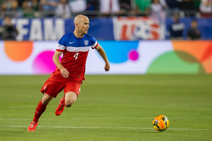 Michael Bradley of the U.S. Men's National Soccer Team - USSOCCER.COM