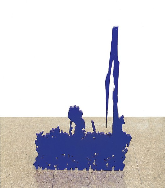 Untitled (BLUE), 1998 - ARTWORK © ARTURO HERRERA/ COURTESY THE ARTIST AND SIKKEMA JENKINS & CO., NEW YORK
