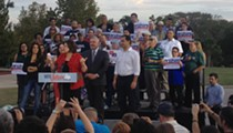 Van de Putte Kicks Off Campaign Tour at Star-studded Rally