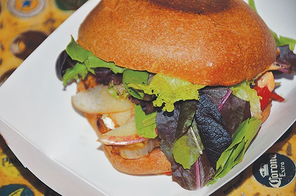 Veggie sandwich - SCOTT ANDREWS