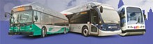 COURTESY PHOTO - VIA's desired future fleet: bus, Primo and streetcar