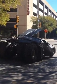 VIDEO: Batmobile Spotted Driving Through Downtown San Antonio + Watch Batman '66 Episode One