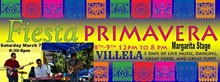 VILLELA @ Fiesta Primavera @ Market Square March 7
