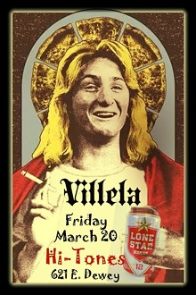 VILLELA Returns to Hi-Tones Friday March 20, 2015