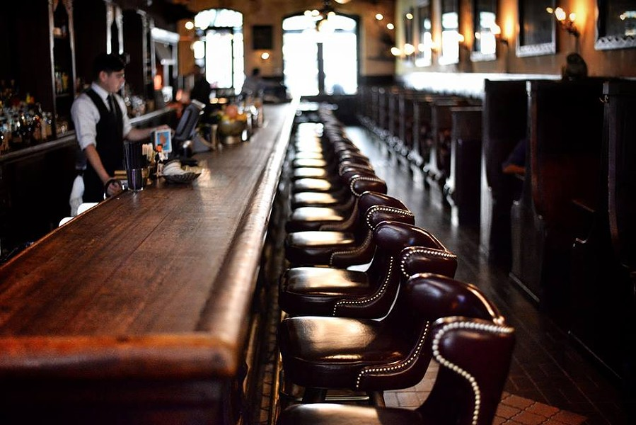 Visit Texas' longest bar and drink up SA's Alamo Beer - KODY MELTON/THE ESQUIRE
